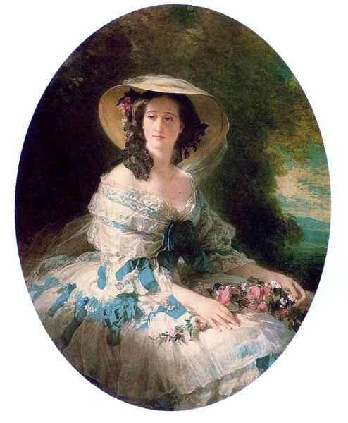Empress_Eugénie,_Hillwood_Museum,_1857